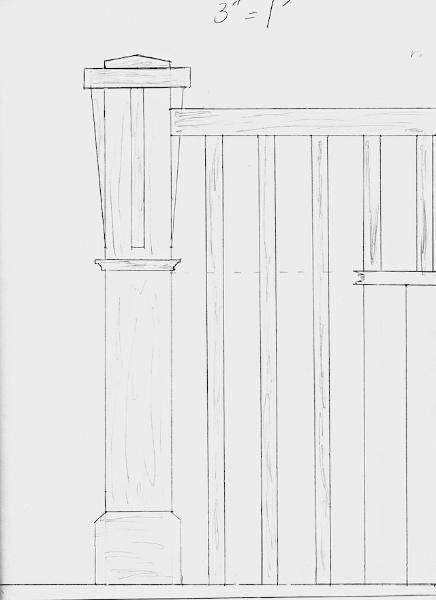 Railing Drawing